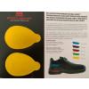 Steitz Secura Vario System Fersendämpfung (Paar) gelb
